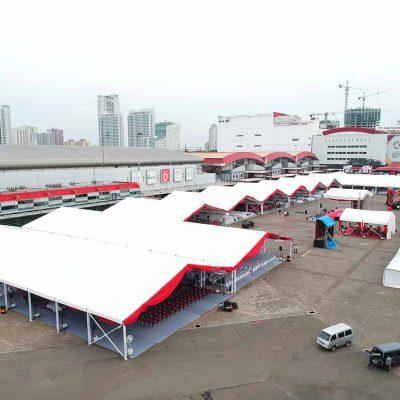 Event menggunakan Tenda Roder